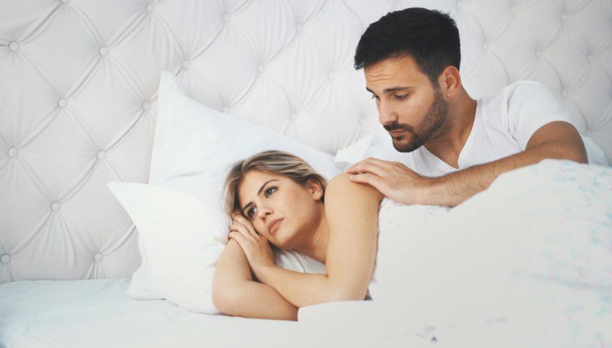 женщина не хотеть секса