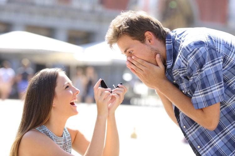 Можно ли сделать мужчине предложение?