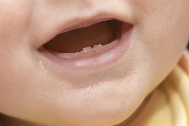 Когда начинают резаться зубки