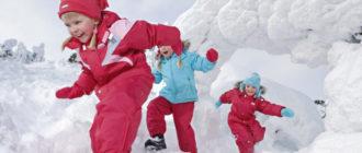 Выбираем зимнюю одежду для ребенка