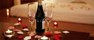 Романтический ужин дома для любимого