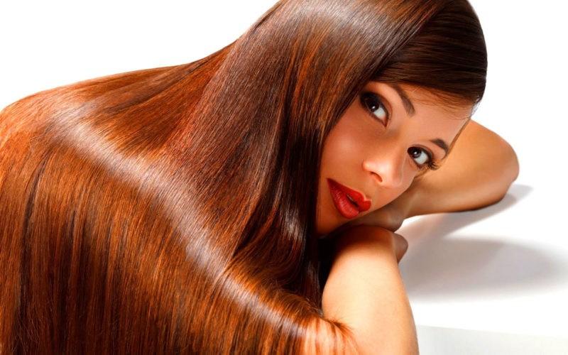 Блестящие и красивые волосы