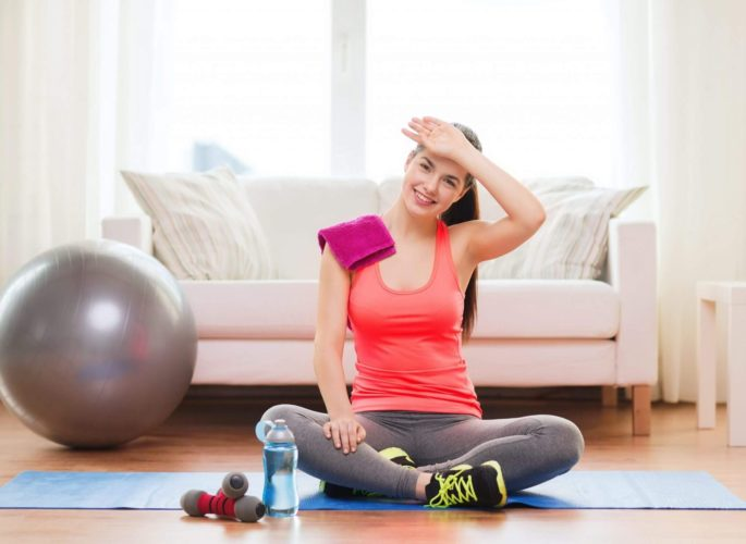 Как быстро похудеть дома