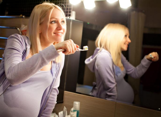 Зубы во время беременности