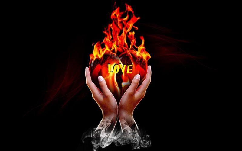 Пусть любовь не угасает