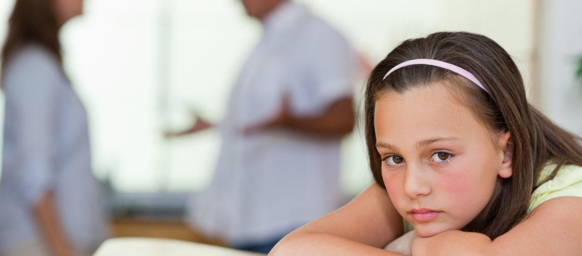 Как объяснить ребенку развод родителей