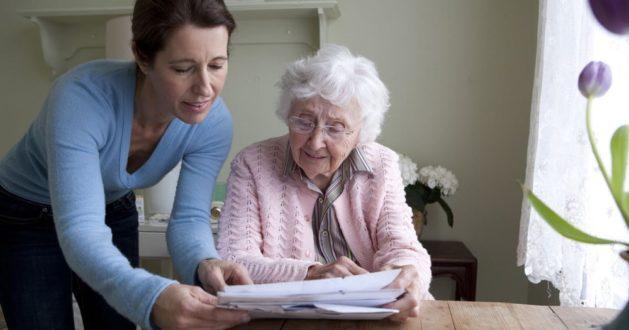 Открытие дома престарелых