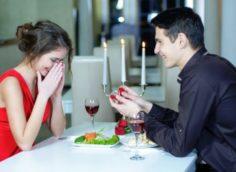 парень сделал предложение девушке