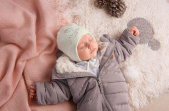 Как одевать младенца зимой