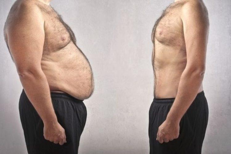 Как сбросить вес толстому мужчине