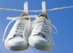 высушить обувь