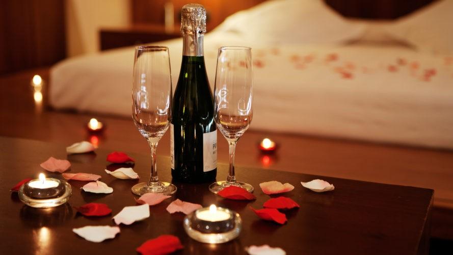 Романтический вечер мужу