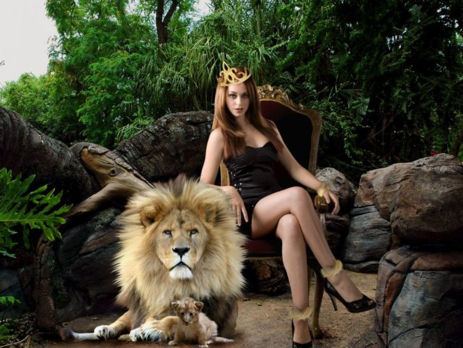 Лев женщина-лев мужчина