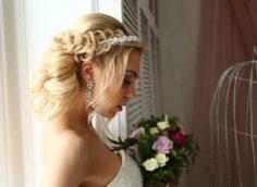 причёски невесты