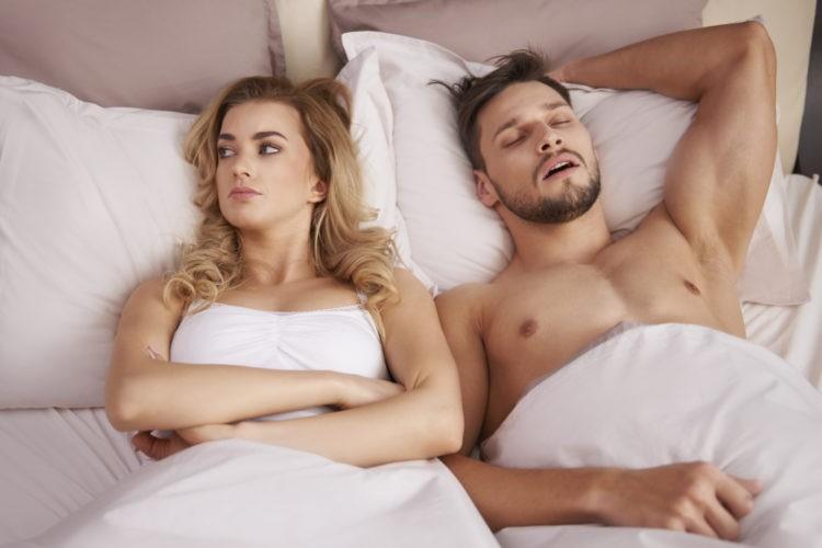 женщина после секса