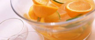апельсиновой корки