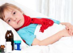 Согревающий компресс ребенку