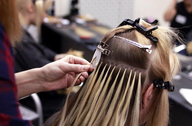 наращивать волосы