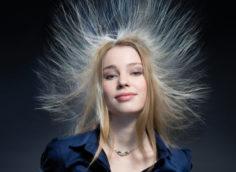 Волосы электризуются